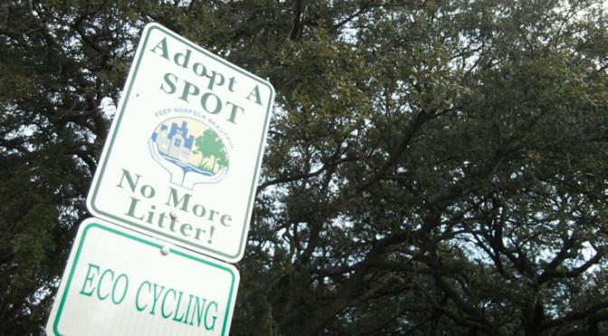 ERT Norfolk Trail Adopt A Spot cleanup