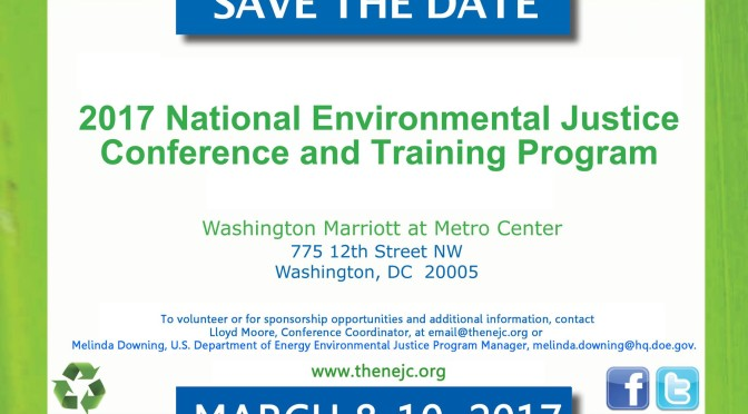 National Environmental Justice Conference and Training Program