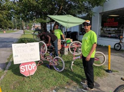 National Night Out: Community Street Bike Kitchen