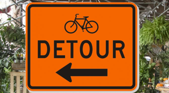 Bicycle Garden DeTour